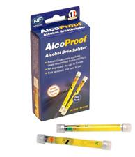 Punto de viaje alcohol Breathalyser Twin Pack-NF aprobado