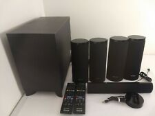 Sony 5.1 Surround Sound Home Theater Speakers From HBD-E580 System + Remotes