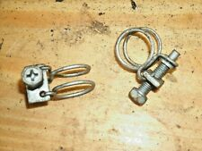 "(2) 87-89 Nissan Pulsar NX Sentra 5/8"" Coolant Line Screw Clamps @ Throttle Body"