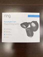 Ring Floodlight Camera Motion-Activated Hd Security Cam 2-Way Talk, Black