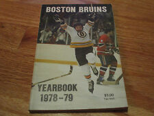 1978-79 BOSTON BRUINS Yearbook PETER McNAB JEAN RATELLE BRAD PARK MIDDLETON