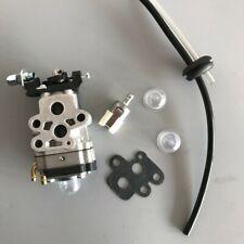 Carburetor For Redmax HBZ2601 Carby String Trimmer Primer Bulb & Fuel Line Kit