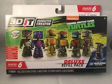 3D IT Character Creator Teenage Mutant Ninja Turtles Deluxe Refill Pack