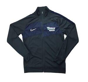 Nike Prairie State Pioneers Athleisure Full Zip Soccer Jacket Mens M Gray BV6918