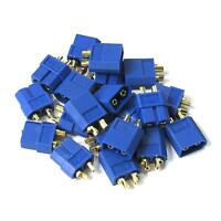 10 pairs XT60 Gold Connector Plug Male / Female for RC Battery ESC 20pcs Blue