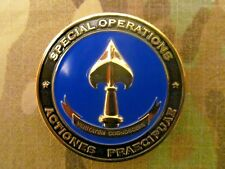 RARE!!! AUTHENTIC CIA, SOG  SEAL TEAM 6  OPERATION  NEPTUNE SPEAR CHALLENGE COIN