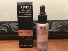 NIB*Algenist REVEAL Concentrated Luminizing Drops*Rose Glow*DlxTravel*GreatValu!