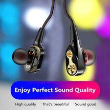 9D Stereo Wired Earphone 3.5mm In-ear Earphone/Handfree/Earplugs With Microphone