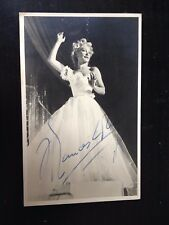 FRANCES DAY - POPULAR AMERICAN ACTRESS  - EXCELLENT SIGNED B/W PHOTO