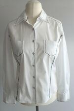 Bonita klassische Bluse Gr.40 weiß langer Ärmel