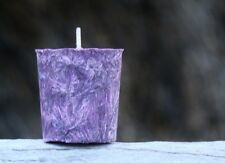 8pk 160hr/pack PURPLE VIOLETS & BABY POWDER Triple Scented Votive Candles GIFTS