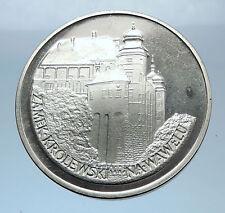 1977 POLAND w WAWEL CASTLE Krakow Antique Silver 100 Zlotych Polish Coin i72410