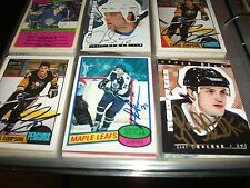 DARRYL SITTLER AUTOGRAPHED 1980-81 TOPPS # 50 TORONTO MAPLE LEAFS