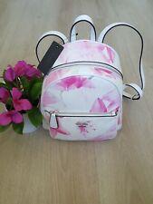 GUESS Pandore Backpack Pink Floral Shoulder Bag Purse