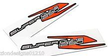 SUPERDUKE 1290r Gris, Naranja, Negro, calcomanías de motocicleta, Gráficos, Pegatinas X 2