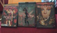 Resident Evil - Silent Hill - DVD Lot - Suspense/Horror - Milla Jovovich