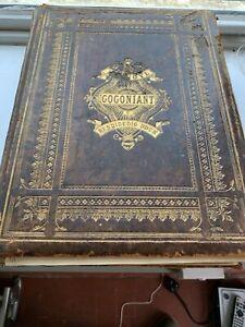 Antique Welsh Bibl Peter Williams Matthew Henry Family Bible Leather Cymraeg