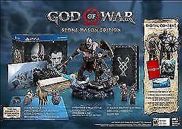 God of War: Stone Mason Edition (Sony PlayStation 4, 2018)