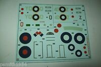 AIRFIX  GLOSTER METEOR F.III  02038  1:72 scale decals