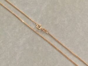 Brand New 9ct Diamond Cut Curb Link Chain 18 inch 1.75grams £95 or Best Of Offer