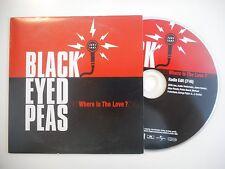THE BLACK EYED PEAS : WHERE IS THE LOVE ? [CD SINGLE PORT GRATUIT]