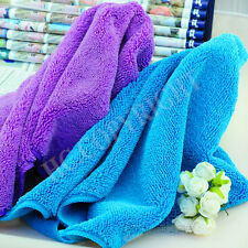 70*140CM Soft Absorbent Pet Dog Cat Drying Towel Bath Cleaning Washing Cloth