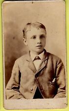 CDV - Young Boy  - Gurley & Harris - New York