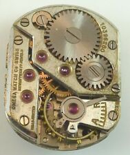 Vintage Omega Mechanical Wristwatch Movement - Parts Repair