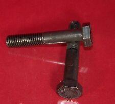 1 Stk Sechskantschrauben mit Schaft M12 x 1,25 x 150 mm 10.9 schwarz DIN 690