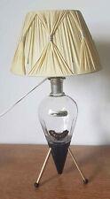 Lampe vintage tripode liqueur Garnier Enghien