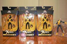 Hasbro Marvel Legends New Mutants Dani Moonstar Figure x3 Lot With Extras