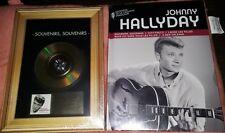 NEUF SCELLE JOHNNY HALLYDAY SOUVENIRS SOUVENIRS DISQUE D OR CD + LIVRE CD LEGEND