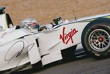 Mike Conway Hand Signed Brawn F1 12x8 Photo 2.