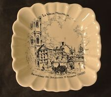 "Vintage Small Bowl with""Seminary Of Sulpician Father"" Le Vieux Montreal"