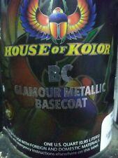 House of Kolor BC02 Orion Silver - Shimrin2 Glamour Metallic Basecoat, Gallon