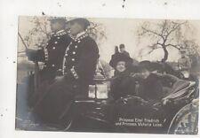 Prinzess Eitel Friedrich & Prinzess Victoria RP Postcard Germany Royalty 015b