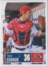 2018 Harrisburg Senators Taylor Gushue RC Rookie Nationals Minor