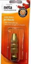 Neta 12mm High Pressure Solid Brass Jet Nozzle
