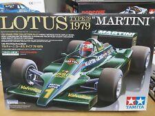 Tamiya 1/20 Martini Lotus type 79 1979  F1 Model GP Car Kit #20061