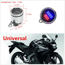 DC12V Waterproof 62mm Motorcycles ATV LED Digital PRM Tachometer Voltmeter Gauge