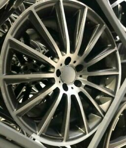 """20""""grey pl turbine alloy wheels audi / mercedes e s amg cls sl class staggered"""