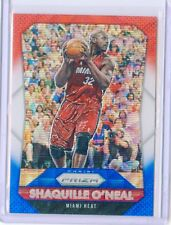 2015-16 PANINI PRIZM #284 SHAQUILLE O'NEAL RED WHITE & BLUE PULSAR CAVALIERS  C