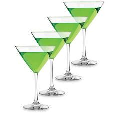 Martini Glasses - Set of 8, 12 Oz Each, Glass, Dishwasher Safe, Made in USA