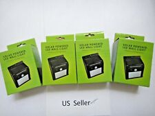 4x-20 LED Solar Power PIR Motion Sensor Wall Light Outdoor Lamp Waterproof USA