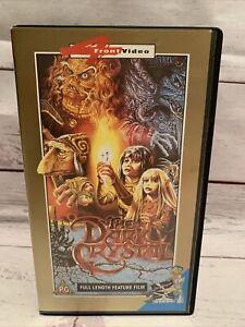 The Dark Crystal VHS 1992