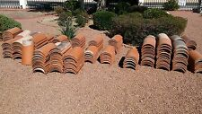 U type Clay Spanish Clay Red Roof Tile 10 tiles per order
