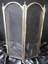 Vintage laiton style art déco table pliante Firescreen stand