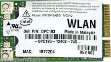 + Intel® PRO Wireless WM3945ABG MOW2 Dual Band Dell 0PC193 WLAN Mini PCIe +