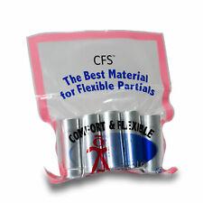 CFS - Flexible Thermoplastic Material - Medium - Standard Pink - 25 mm