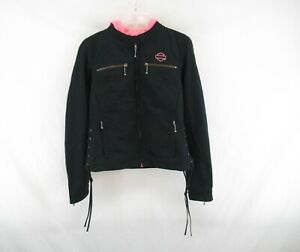 Harley Davidson Women's Pink Label 3 in 1 Casual Jacket Size S #E52